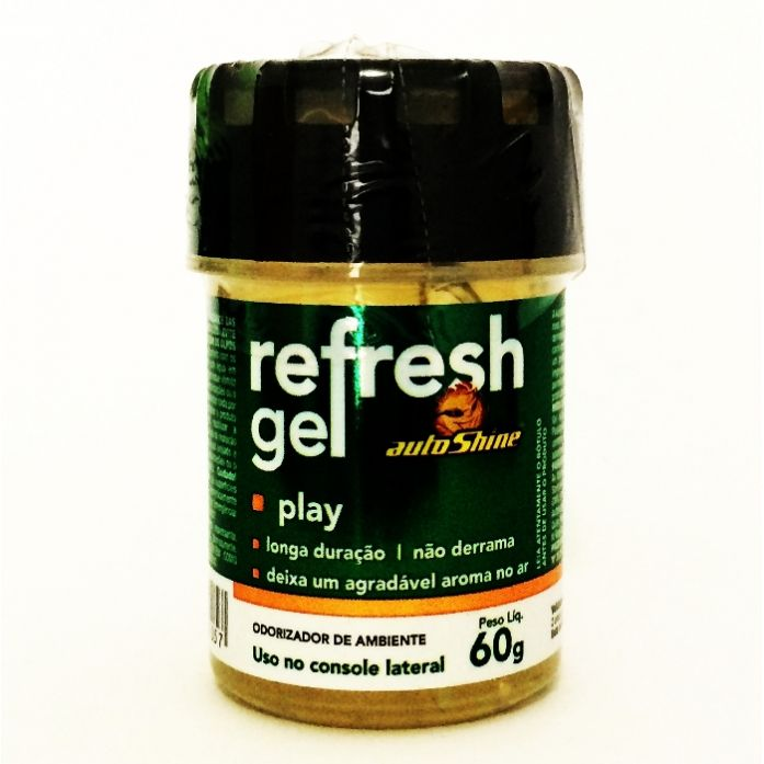 Aromatizante Refresh Gel Play Autoshine