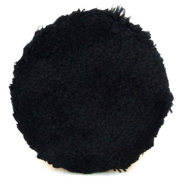 Boina de Microfibra Buff and shine com espuma preta 5,5