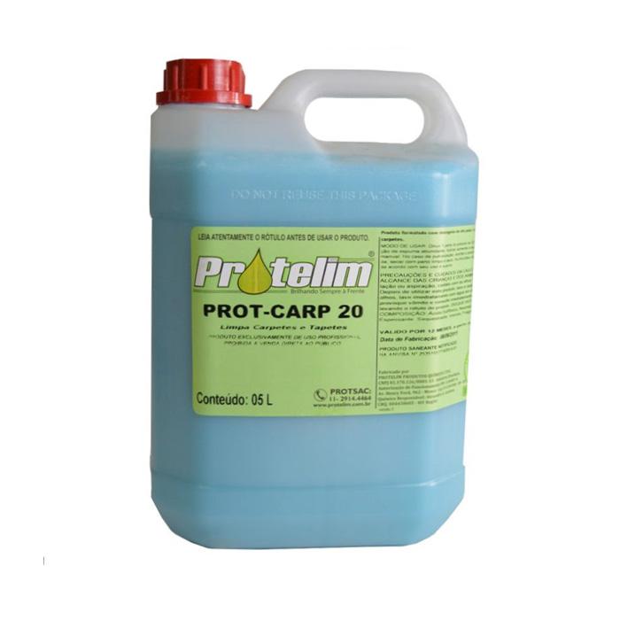 Limpa Carpete e Estofado Prot-Carp20 5L Protelim