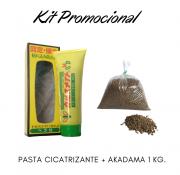 Kit Promocional Pasta Cicatrizante + Akadama