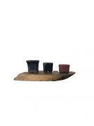 Vaso de Cerâmica Japonês MAME Cascata/Semi-Cascata J1990
