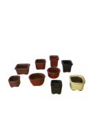 Vaso de Cerâmica Japonês MAME - Ref. J1990