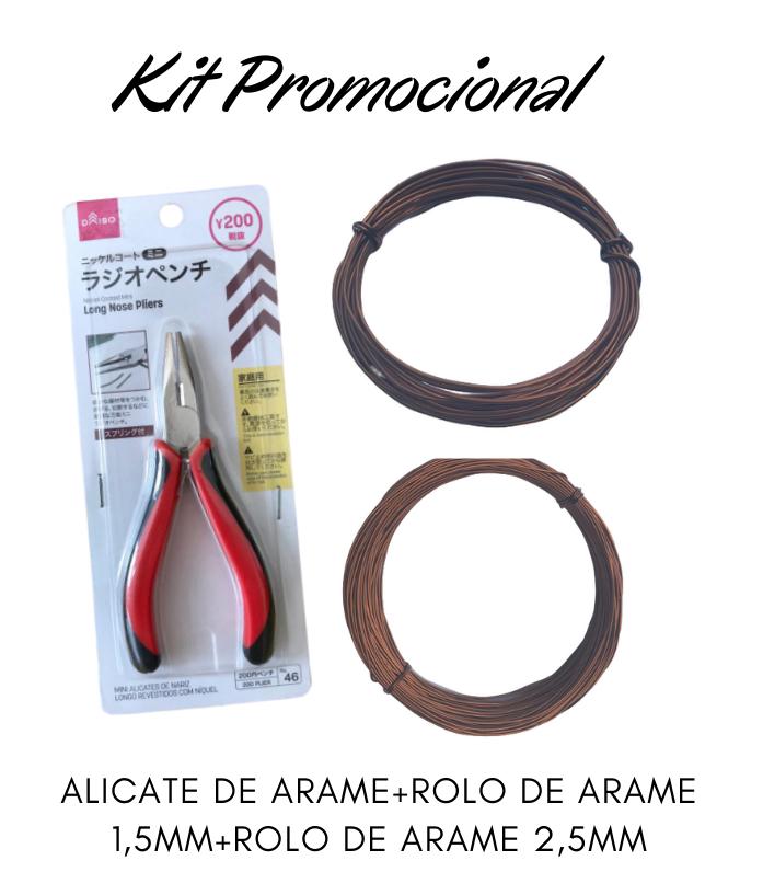 Kit Promocional Arames + Alicate de Arame