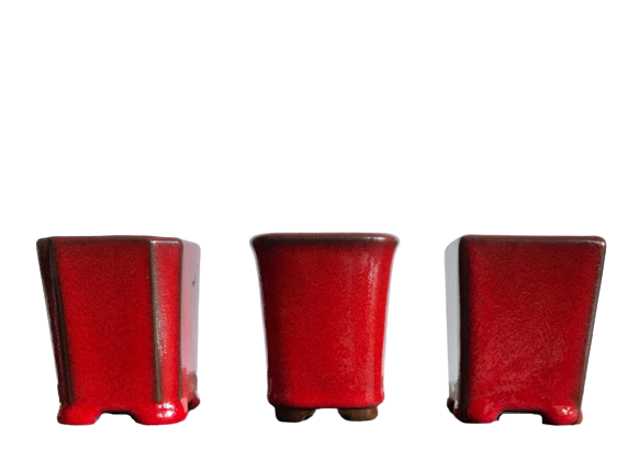 Vaso de Cerâmica Japonês MAME Cascata - J4990