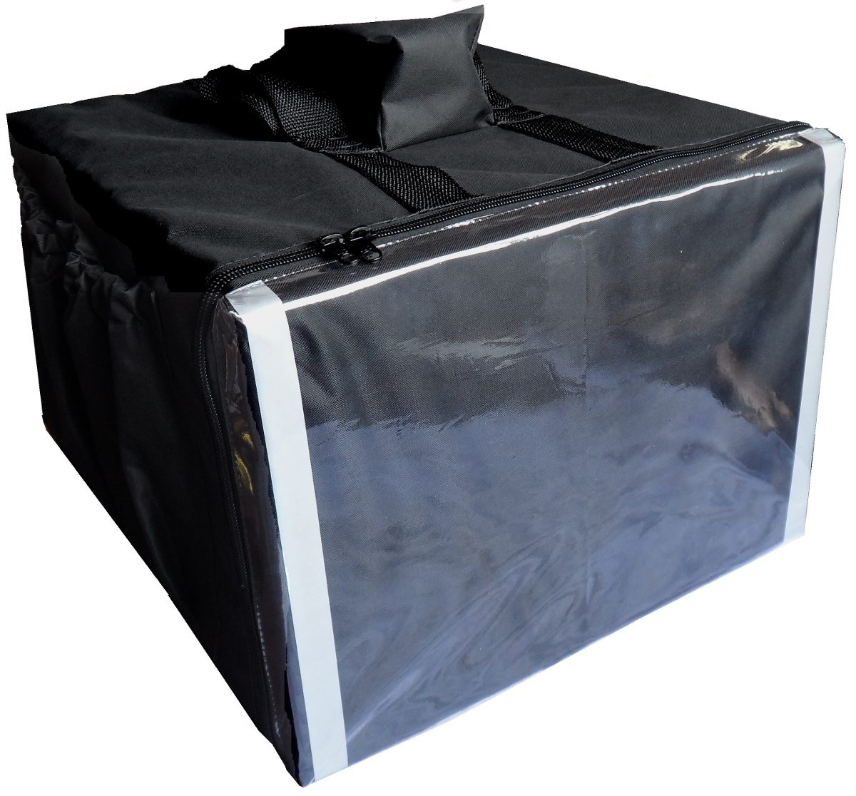 Bolsa Mochila Térmica Motoboy Entrega 20 Marmitex de Alumínio Revestida Com Alumínio 20mal  - GuerreiroOnline
