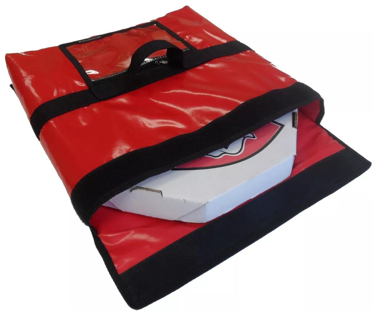 Bolsa Térmica Para Pizza Caixa  Quadrada Redonda Oitavada Tipo Envelope (Leva até 2 caixas de pizza)  - GuerreiroOnline