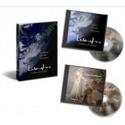 KIT 2 CDs Música Instrumental + Livro - Inspirados em O Alquimista Paulo Coelho Enya Kitaro Vangelis Yanni Lorenna McKennitt