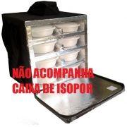 Mochila Reposição Para Marmitex Redonda de Isopor - Não Acompanha a Caixa de Isopor!