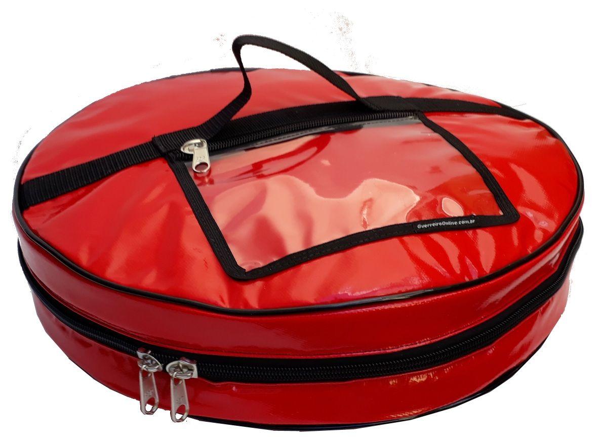 Bolsa Térmica Para Pizza Caixa Redonda Oitavada (para até 2 caixas de pizza)  - GuerreiroOnline