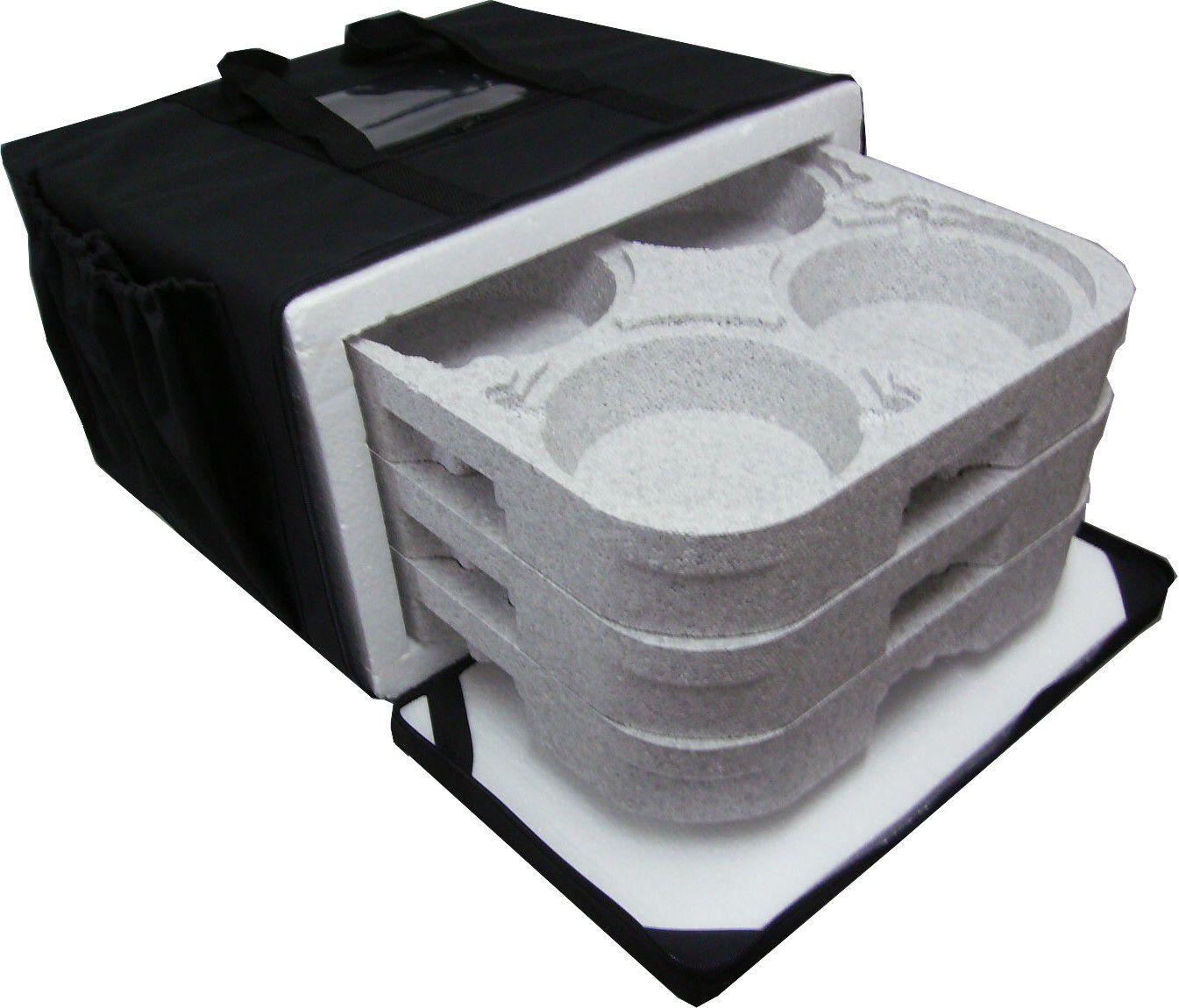 Bolsa Mochila Para Entrega De Marmitex Alumínio 8 E 9 - 12m  - GuerreiroOnline