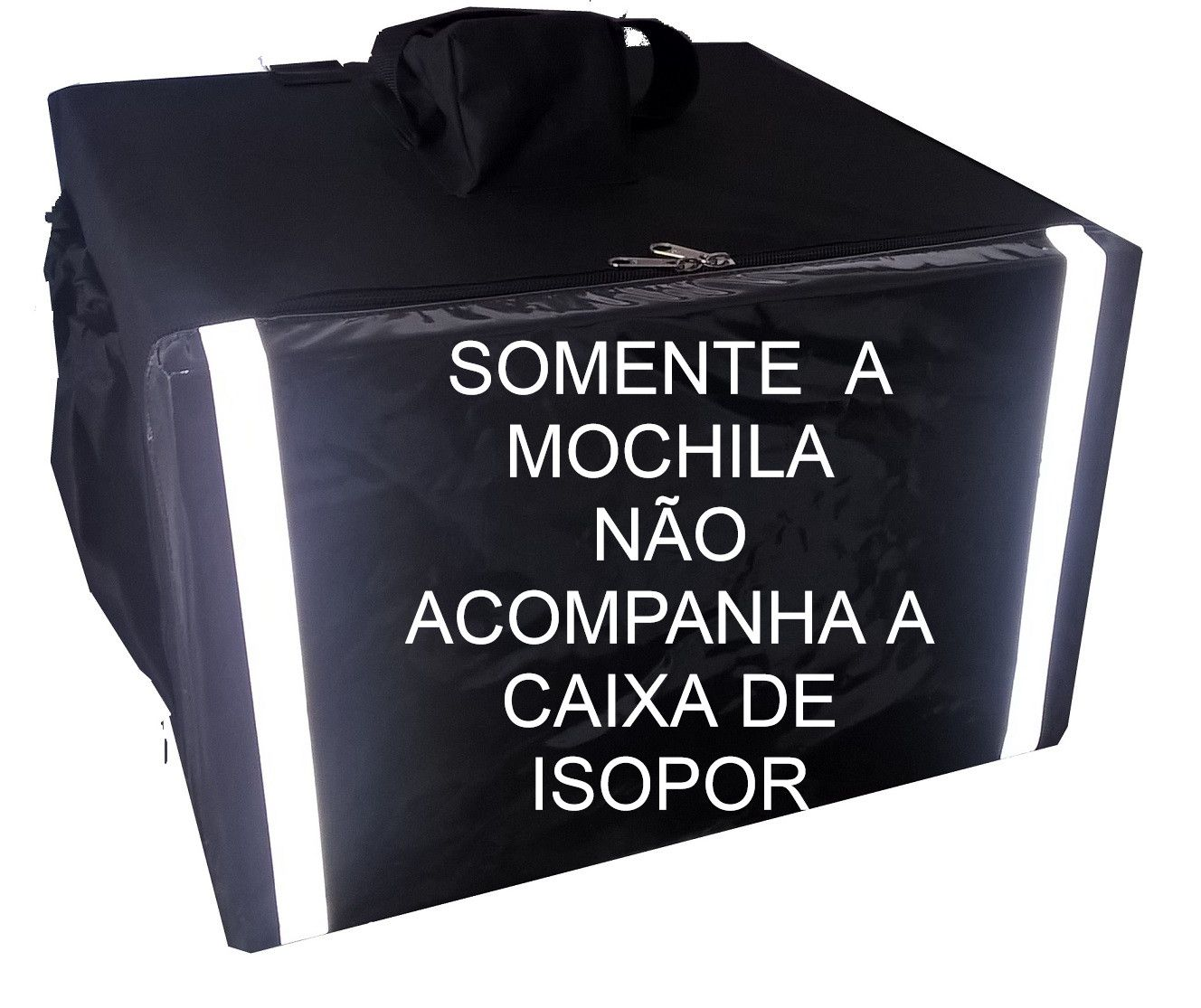 Mochila 12 ou 20 Marmitex  para Reposição - Não acompanha caixa de isopor ou módulos  - GuerreiroOnline Bolsas e Mochilas para Pizza Lanches Marmitex