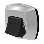 Acabamento ABS Cromado / Preto Para válvula descarga Docol 340307