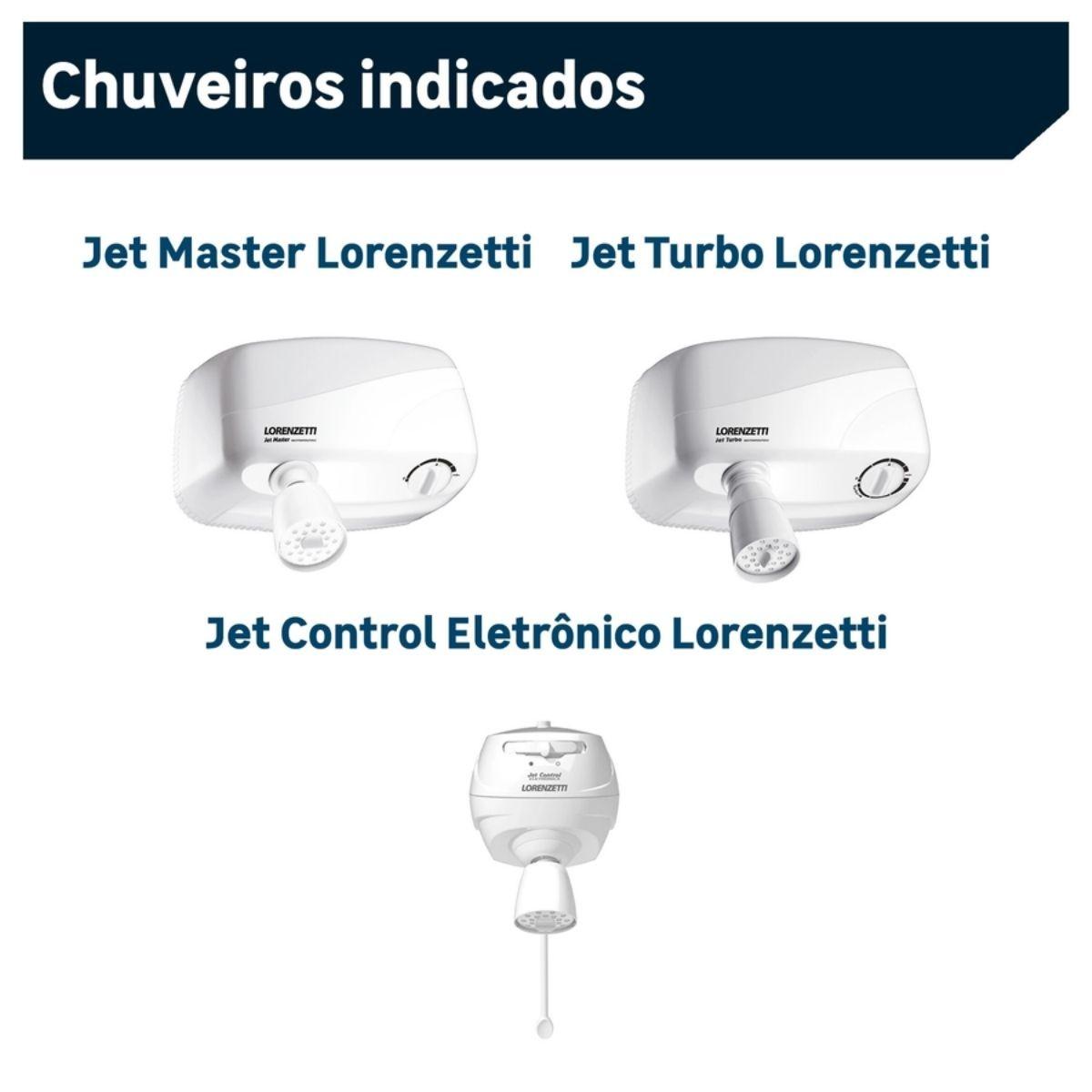 Resistência Jet Control Eletrônica / Jet Turbo 220V 7800W Lorenzetti Original
