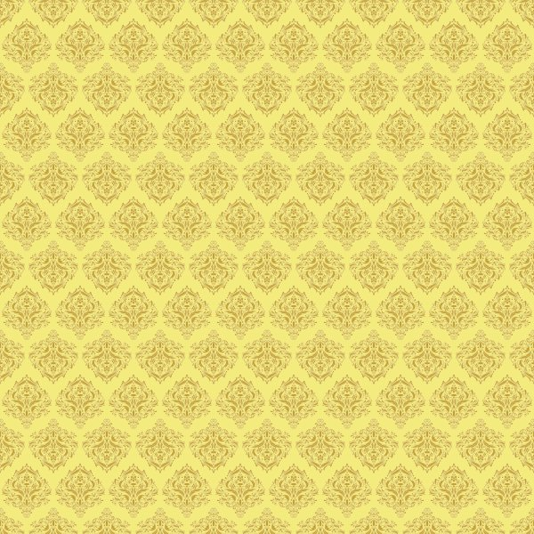 Papel de Parede Arabesco Abu Dhabi Amarelo  - TaColado
