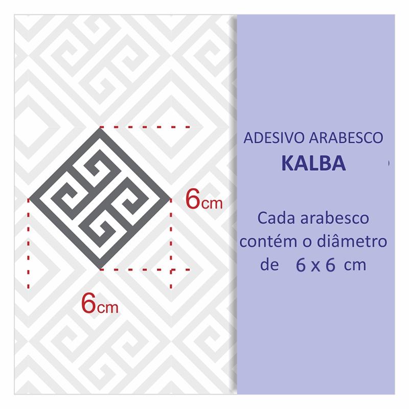 Papel de Parede Geométrico Kalba Cinza  - TaColado