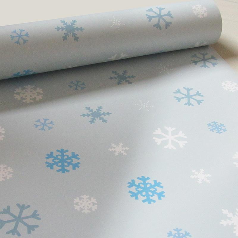 Papel de Parede Frozen Azul Claro  - TaColado