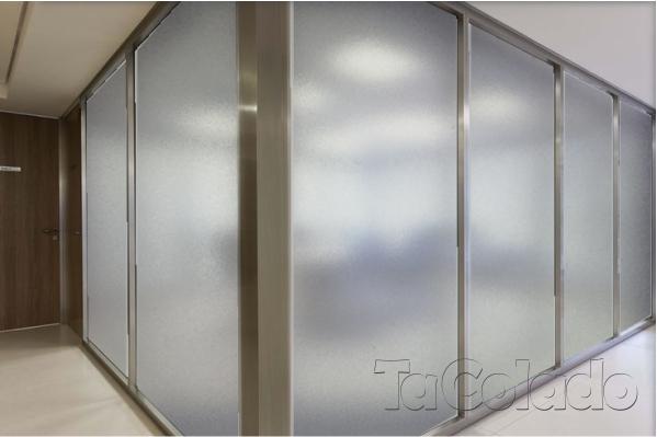 Adesivo Jateado Cristal 1,52 x 1,00m  - TaColado