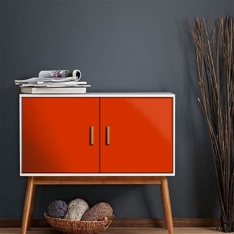 Adesivo Oracal 651 - 047 Orange Red