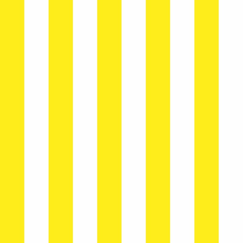 Papel de Parede Listras Fortes Amarelo  - TaColado