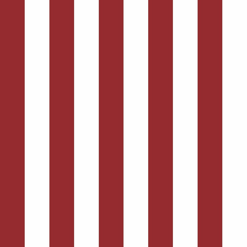 Papel de Parede Listras Fortes Vermelho  - TaColado