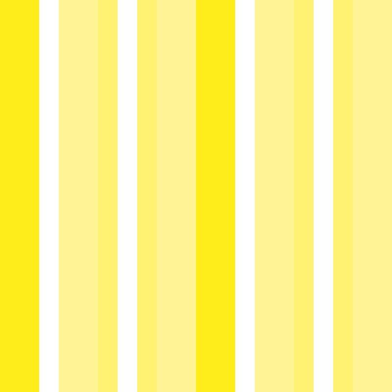 Papel de Parede Listras Médias Amarelo  - TaColado