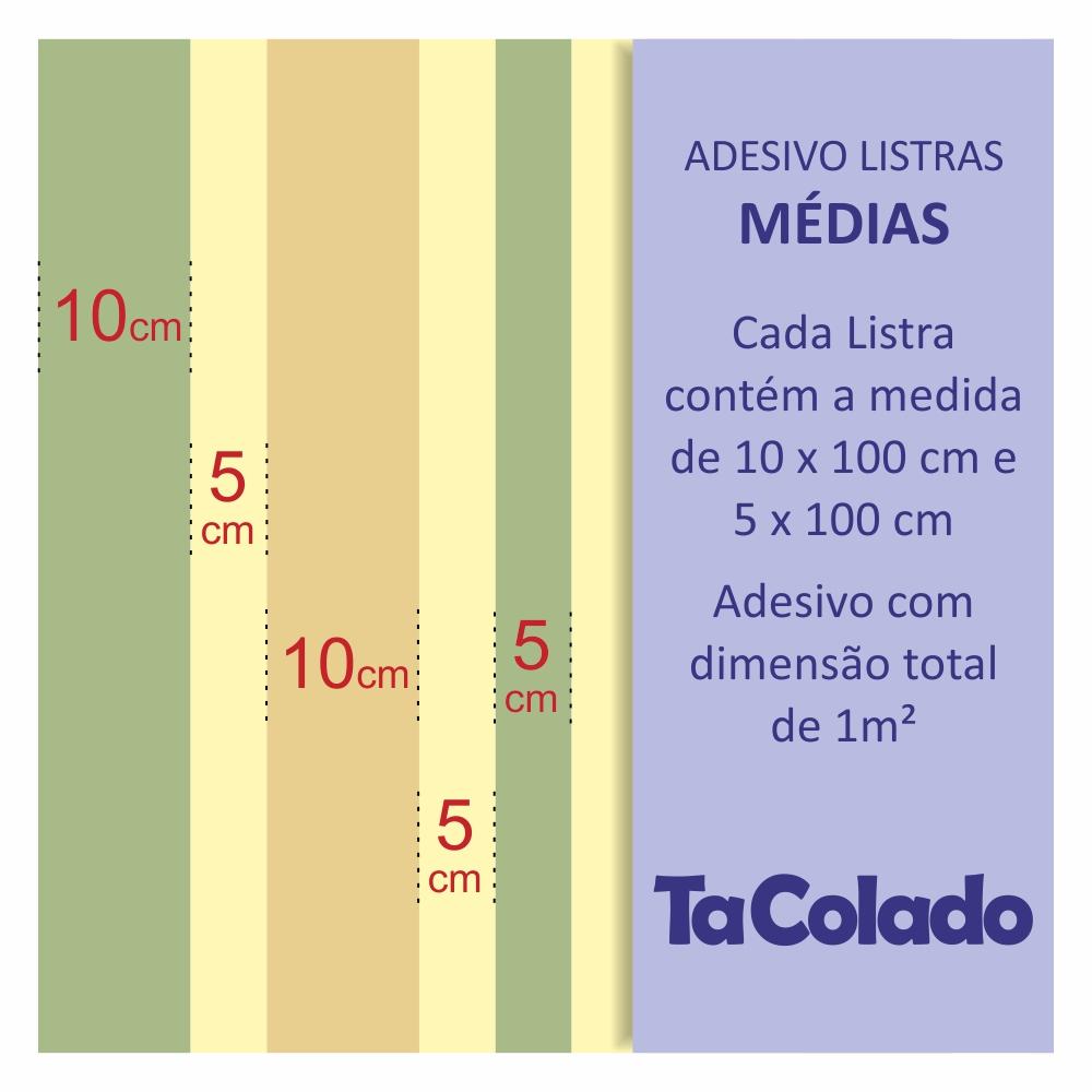 Papel de Parede Listras Médias Azul Marinho  - TaColado