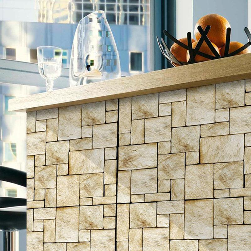 Revestimento Adesivo Pedra Mosaico