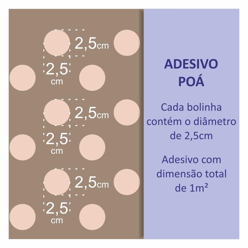 Papel de Parede Poá Cinza Claro  - TaColado