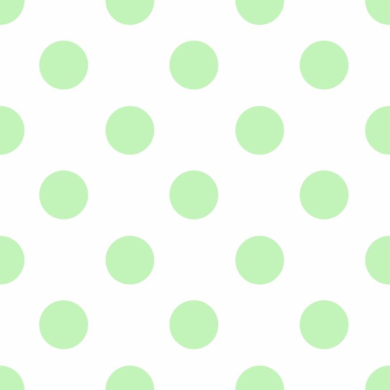Papel de Parede Poá Verde Claro  - TaColado