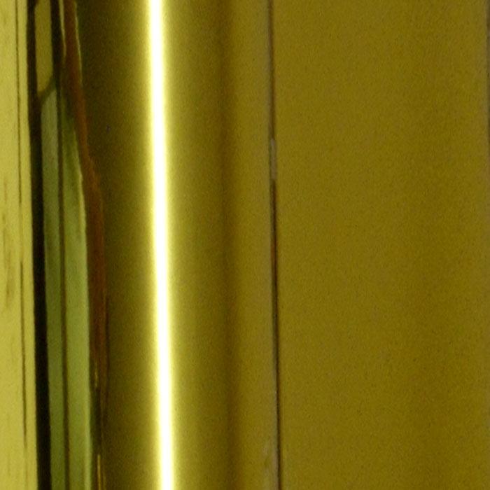 Retalho Cromado Dourado  - TaColado