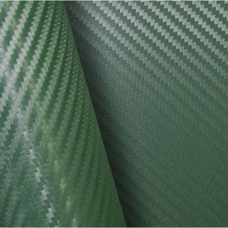 Retalho Fibra Carbono Verde  - TaColado