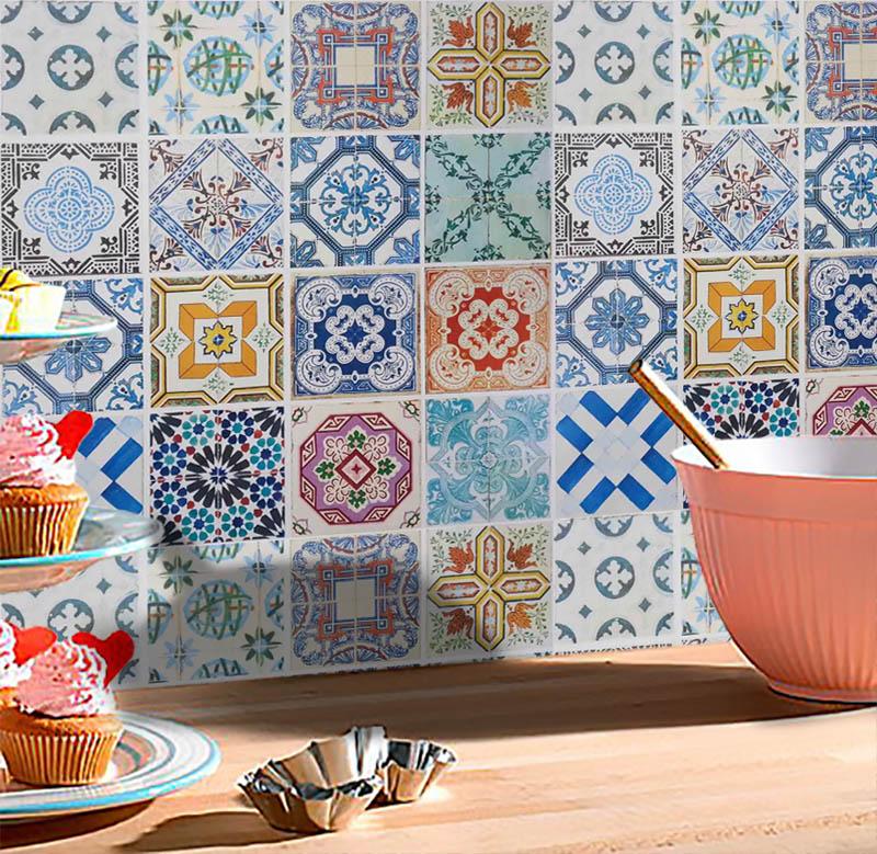 Adesivo Decorativo Azulejo 2