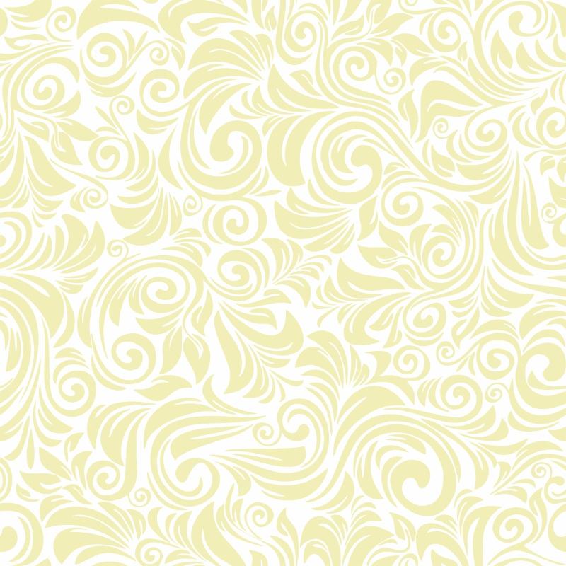 Papel de Parede Floral Florença Creme  - TaColado