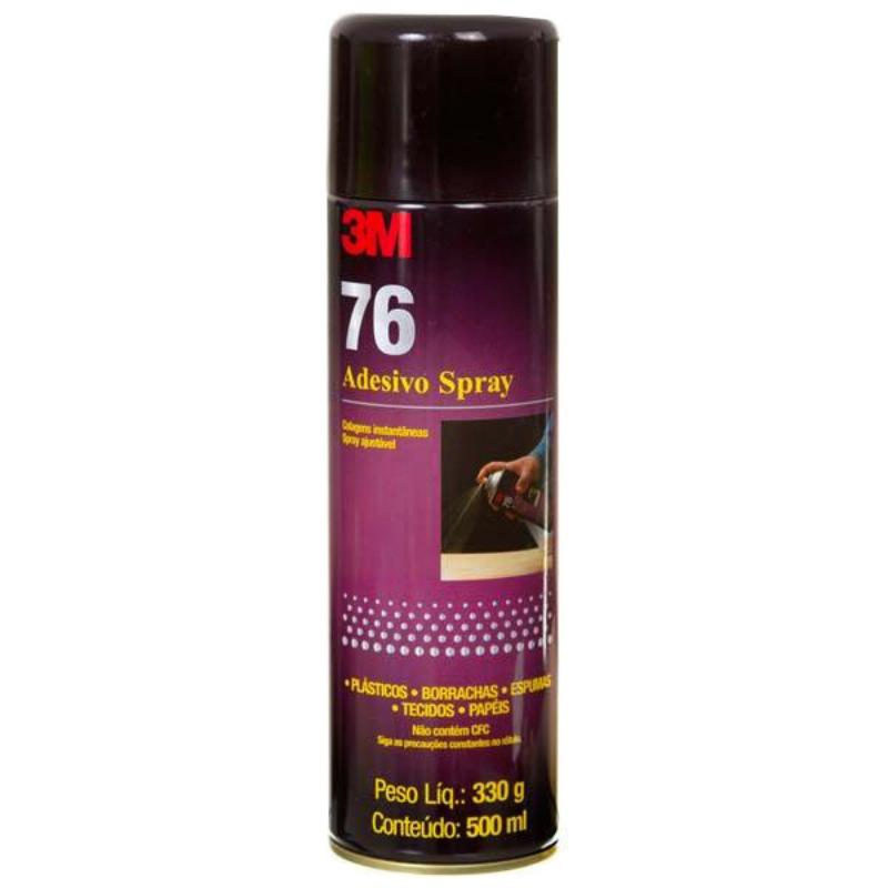 Adesivo Cola Spray 76 3M  300g  - TaColado