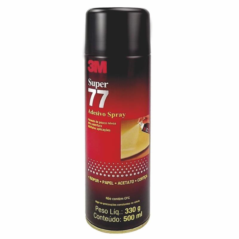 Adesivo Cola Spray 77 3M 300g  - TaColado
