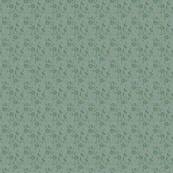 Adesivos de Parede Floral Alain Verde  - TaColado