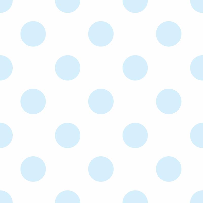Papel de Parede Poá Azul Claro  - TaColado