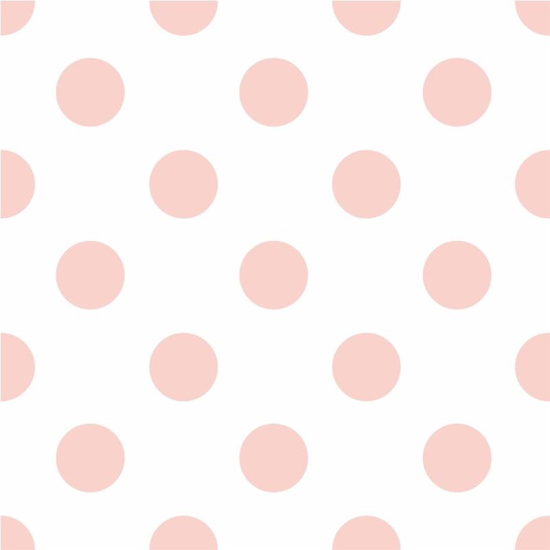 Papel de Parede Poá Rosa Claro  - TaColado