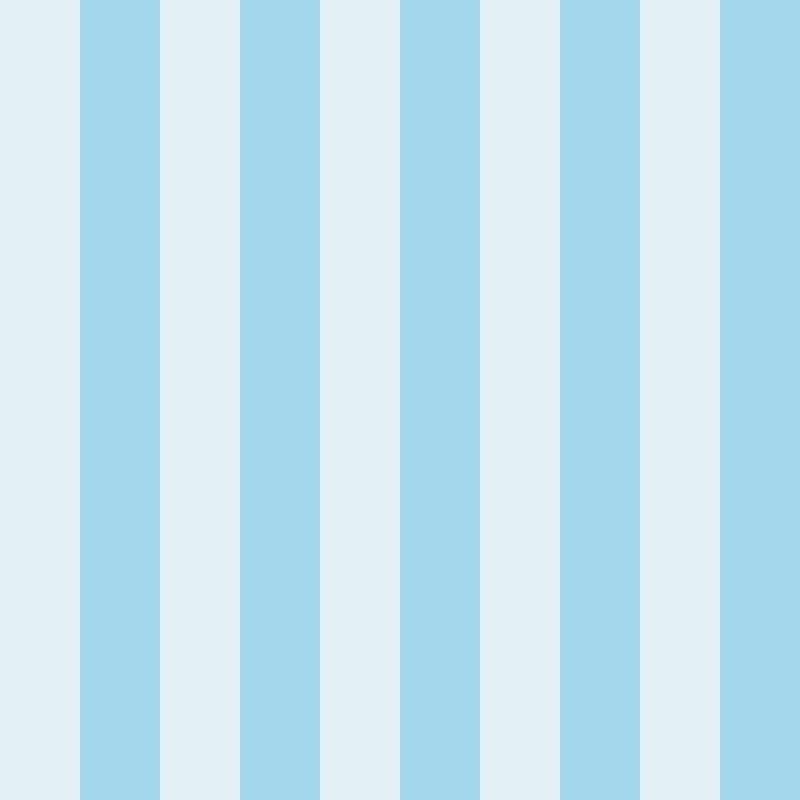 Papel de Parede Listras Fortes Azul  - TaColado
