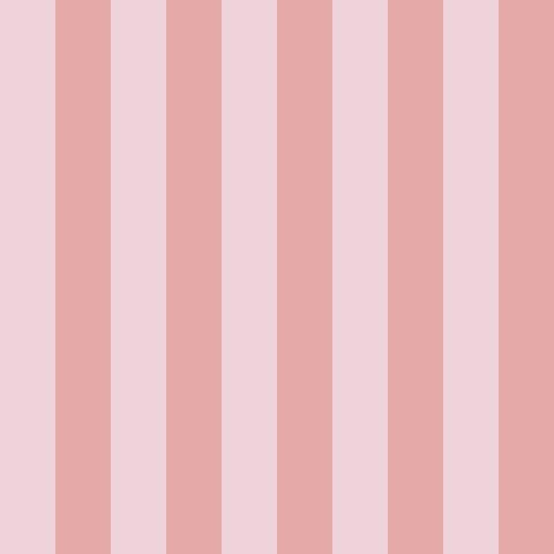 Papel de Parede Listras Fortes Rosa  - TaColado