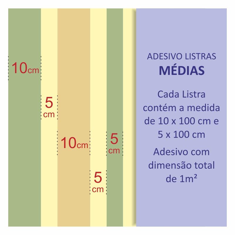 Papel de Parede Listras Médias Cinza  - TaColado