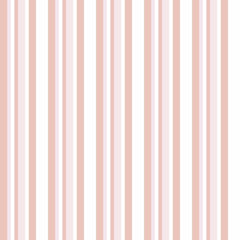 Papel de Parede Listras Rápidas Rosa   - TaColado