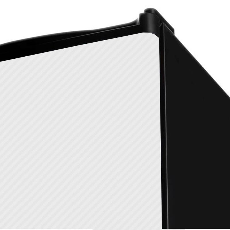 Adesivo Fibra de Carbono Branco  - TaColado