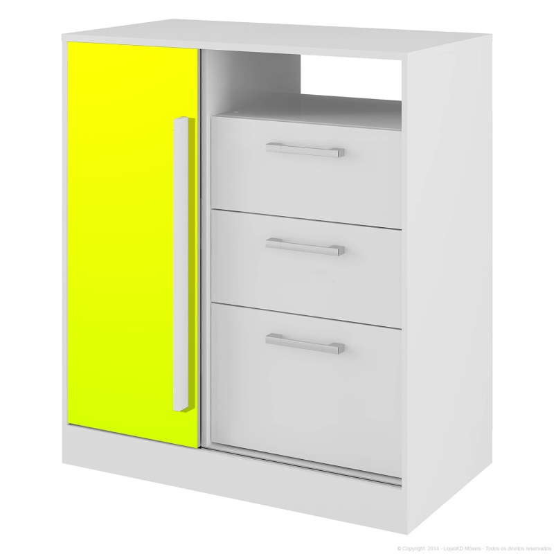 Adesivo Fluorescente Amarelo