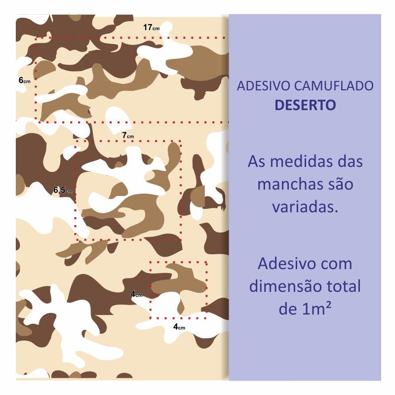 Papel de Parede Camuflado Deserto  - TaColado
