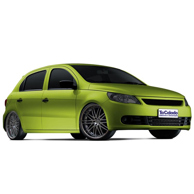 Adesivo Fosco Verde Limão  - TaColado