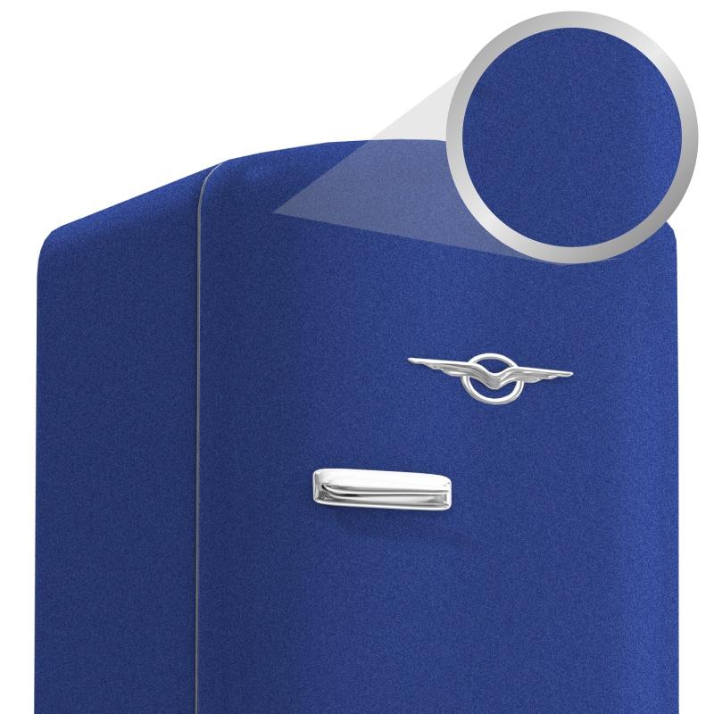 Adesivo Alltak Jateado Blue Metallic