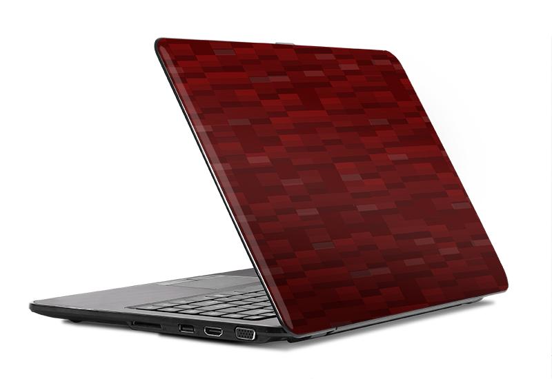 Adesivo Pixel Vermelho  - TaColado