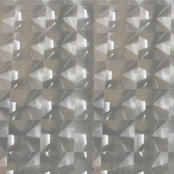 Aparador De Aliança Rommanel ~ Adesivo Jateado para Vidro 3D