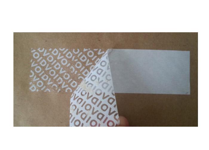 Adesivo Void 3M - Adesivo Lacre Destrutível Branco